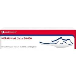 HEPARIN AL Salbe 50.000 100 g