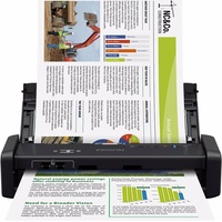 Epson WorkForce DS-360W Mobiler Dokumentenscanner mit Akku)