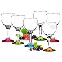 Sendez Weißweinglas 6 Weingläser Bunte Gläser Weinglas Gläserset Rotweingläser Weinkelche Set