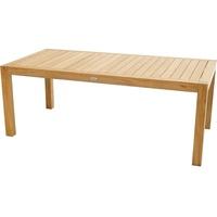 Ploß New Haven Gartentisch 200 x 100 x 75 cm braun