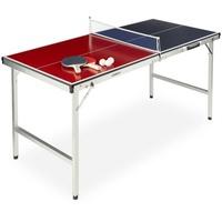Relaxdays Tischtennisplatte mit Zubehör