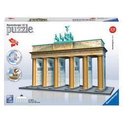 Ravensburger 3D-Puzzle Bauwerke Brandenburger Tor, 324 Puzzleteile
