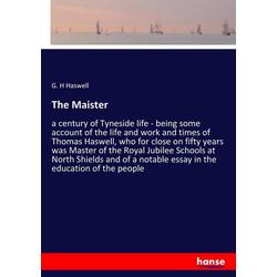 The Maister als Buch von G. H Haswell