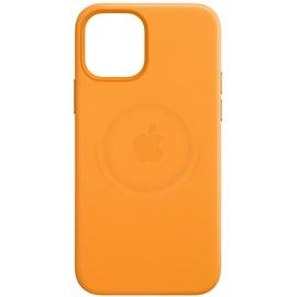 Apple iPhone 12 Pro Max Leder Case mit MagSafe california poppy