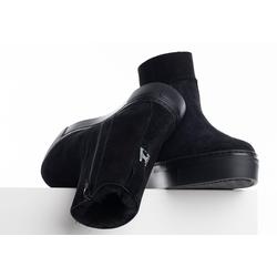 HIGH BOOT SHEARLING - 36 - W20
