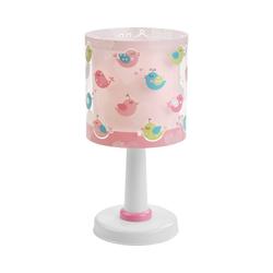 Dalber Nachttischlampe Tischlampe Vögel, rosa