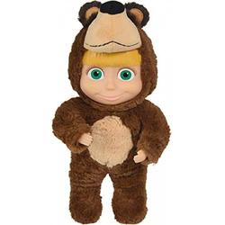 Mascha Simba Puppe mit Bärenkostüm 25 cm