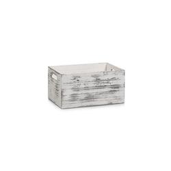 HTI-Living Aufbewahrungsbox Aufbewahrungskiste, Holz Vintage-Used-Look (1 Stück), Aufbewahrungsbox 20 cm x 15.5 cm