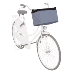 TRIXIE Fahrradkorb TRIXIE Fahrradkorb Vorne für Haustiere 38x25x25 cm Grau