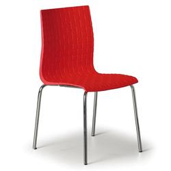Stuhl mezzo 3+1 gratis, rot