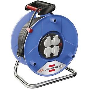 Brennenstuhl 1215056 Kabeltrommel 25m Schwarz Schutzkontakt-Stecker