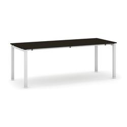 Tisch mit schwimmholzplatte, wenge 2000 x 800