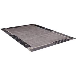 Orientteppich Savana Kite, OCI DIE TEPPICHMARKE, rechteckig, Höhe 6 mm, handgeknüpft grau 250 cm x 300 cm x 6 mm