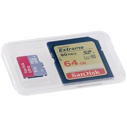 Speicherkartenbox für SD-, miniSD-, microSD- und MMC-Speicherkarten