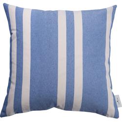 Kissenhülle Different Spreads, TOM TAILOR (1 Stück), mit modernen Streifen blau 45 cm x 45 cm
