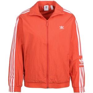 adidas Damen Lock Up Tt Sweatshirt, trace scarlet s18/White, 34 (Herstellergröße: 40)