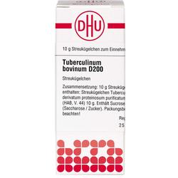 TUBERCULINUM BOVINUM D 200 Globuli 10 g