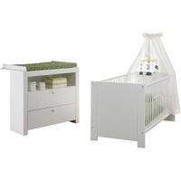 trendteam Babyzimmer Olivia 2-tlg. weiß