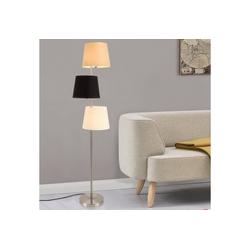 lux.pro Stehlampe, Stylische Stehleuchte Braga - 3-flammig