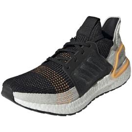 adidas Ultraboost 19 black-light grey-yellow/ white, 41.5