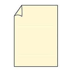 Briefpapier Paperado DIN A4 100 Chamois