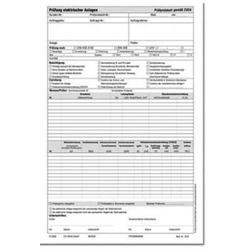 Beha Amprobe 2796941 1338D Prüfprotokoll für DIN VDE 0113 1St.
