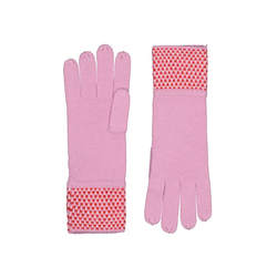 Feinstrick-Handschuhe in wärmendem Wolle-Mix Codello light rose