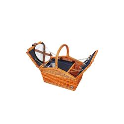 Cilio Picknickkorb Picknickkorb für 2 Personen SALERNO, Picknickkorb