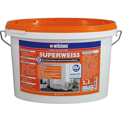 Wilckens Dispersionsfarbe Innen 2,5 l, superweiß