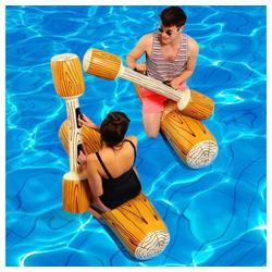 Masbekte Wasserspielzeug, (4-tlg) Erwachsen Kinder Aufblasbar Schwimmbad Spielzeug, Wasserspielzeug Schwimm