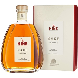 HINE RARE VSOP The Original Cognac Fine Champagne (1x0,7l) - aus dem Hause Thomas Hine - Herkunft Jarnac, Region Cognac, Frankreich - Blend aus ca. 20 Destillaten