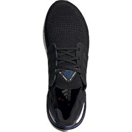 adidas Ultraboost 20 M core black/boost blue violet met/cloud white 40 2/3