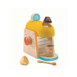 DJECO Spielgeschirr Rollenspiel Kinderküche - Espressomaschine