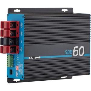 ECTIVE 12V zu 12V 60A Ladebooster B2B mit MPPT-Solarladeregler 430Wp Ladegerät SBB60