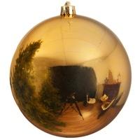 Kaemingk Weihnachtskugel gold