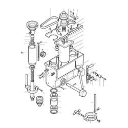 PROXXON 28124-51 Pinole für Tischbohrmaschine TBH