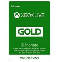 Microsoft Xbox Live Gold (12 Monate) (EU Import)