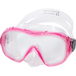 Tecno Pro Tauchermaske Tecnopro Kinder-Tauch-Maske M5 rosa