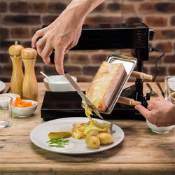 Appenzell 2G traditioneller Raclette Grill 600 W Standgerät schwarz