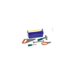 THE TOY COMPANY® Spielwerkzeug Werkzeugkasten mit 5 Werkzeugen