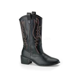 Cowboy-Stiefel COWBOY-100 - Black