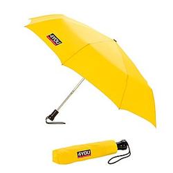 4YOU Taschenschirm / Regenschirm gelb