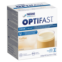 Optifast home Drink Kaffee Pulver