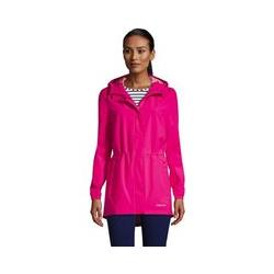 Wasserdichte Regenjacke mit Packfach - M - Pink