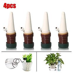 Masbekte Bewässerungssystem, (4-tlg), 4x Bewässerungsystem für Wasserspender, Pflanze Blume Sprinkler, (4 Stück/Set), TopfpflanzenAutomatische Bewässerung