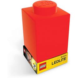 Nachtlicht LEGO-STEIN, rot