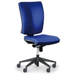 Bürostuhl leon plus, blau, ohne armlehnen