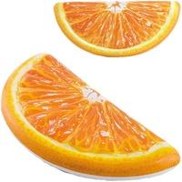 Intex Luftmatratze Orange Slice