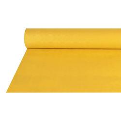 Papiertischtuch mit Damastprägung 50 m x 1 m gelb, Papstar (12576)