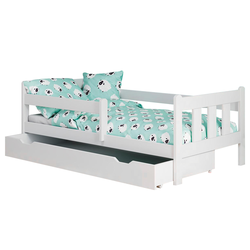 Łóżko dziecięce Getarra białe